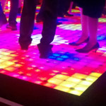 Fox Theatre rents LED dance floor for event