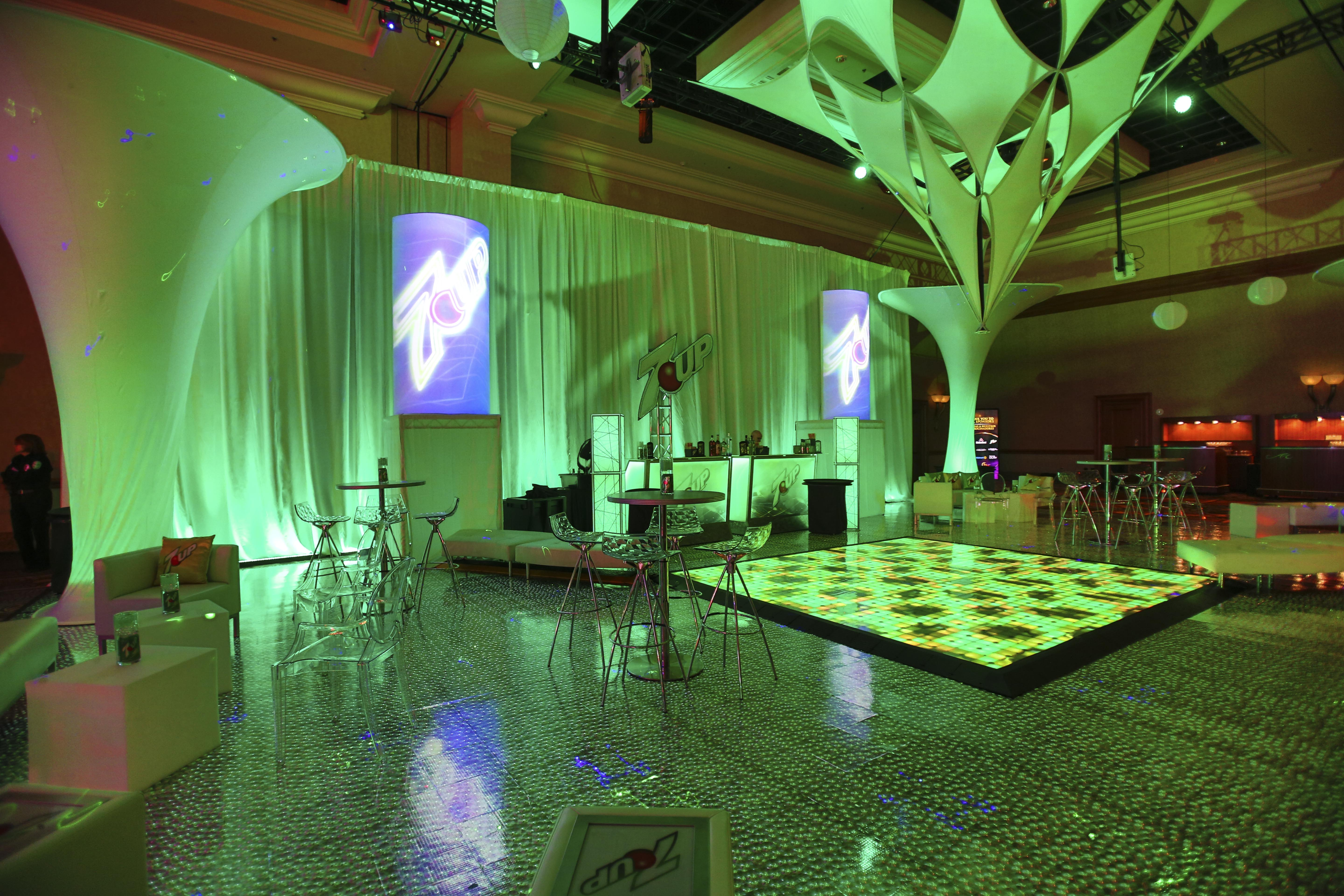 Dance Floor Rental to 7up photo