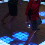 Nickelodeon rents LED dance floor for event